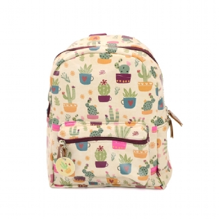 MOCHILA MINI MOOD CACTUS MME01