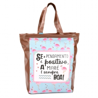 BOLSA BOOK BAG MOOD FLAMINGO BBU009
