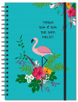 CADERNO UNIVERSITÁRIO FLAMINGO 2329