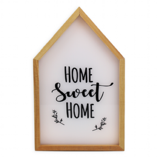 CAIXA LUMINOSA LIGHT BOX HOME SWEET
