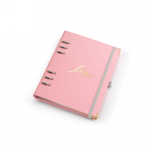 PLANNER OTIMA PINK STONE A5 GM 4909-6