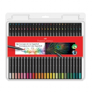 ECOLÁPIS FABER CASTELL SUPERSOFT C/50