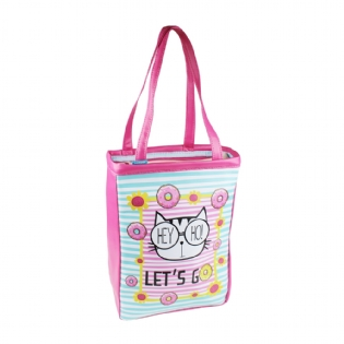 BOLSA BOOK BAG M MOOD DONUTS BBM018