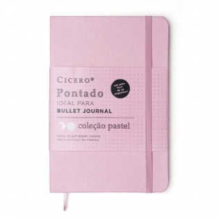 CADERNO BULLET JOURNAL CICERO ROSA