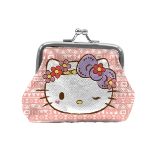 PORTA MOEDAS HELLO KITTY ROSA 40540