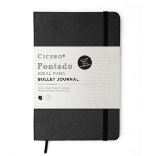 CADERNO BULLET JOURNAL CICERO PRETO
