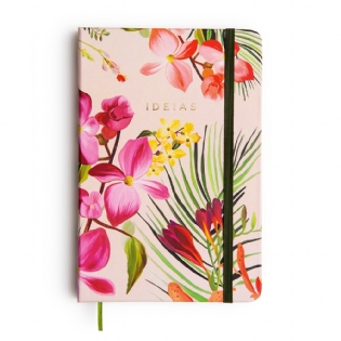 CADERNO BULLET JOURNAL FLORESTA TROPICAL