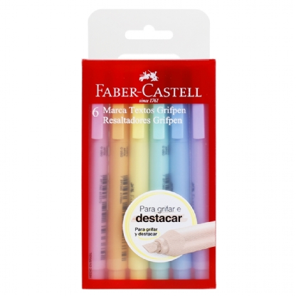 KIT MARCA TEXTO FABER CASTELL PASTEL