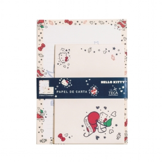 PAPEL DE CARTA HELLO KITTY TATTOO