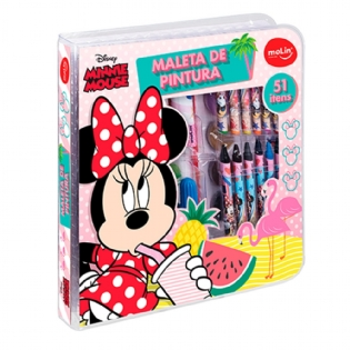 Maleta de Pintura Molin Minnie Mouse