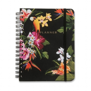 PLANNER CICERO WIRE-O TROPICAL A5