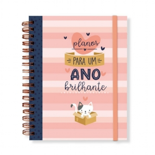 Planner Permanente Anual Cats