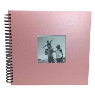 Álbum Square Scrapbook Rosa 30x33