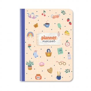 Planner Permanente Mensal Happy Time
