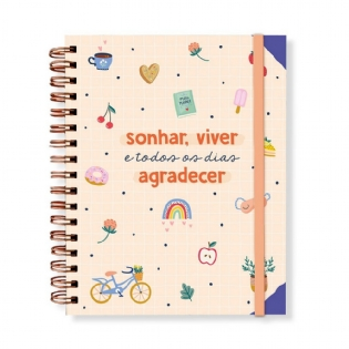 Planner Permanente Anual Happy Time